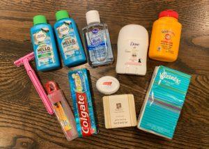 Bug out bag hygiene kit contents