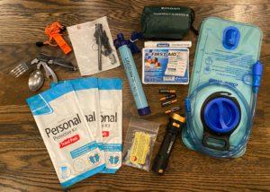 Bug out bag tools